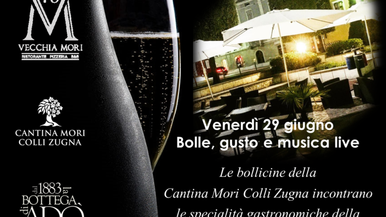 BOLLE, GUSTO E MUSICA LIVE