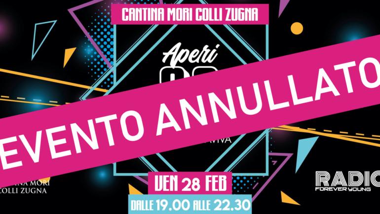 APERI90 - EVENTO ANNULLATO