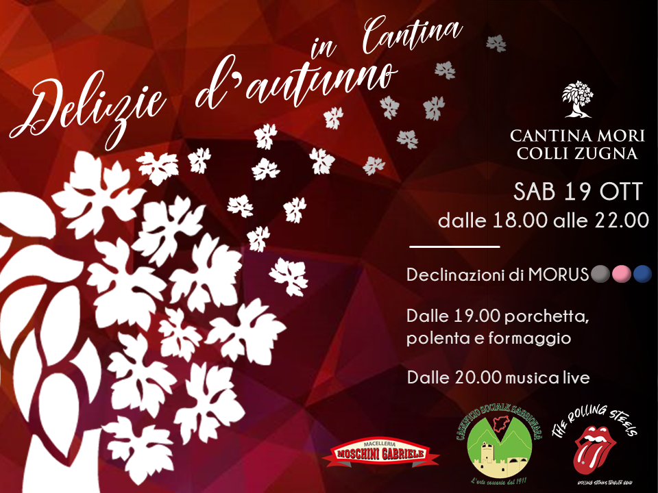 DELIZIE D'AUTUNNO IN CANTINA